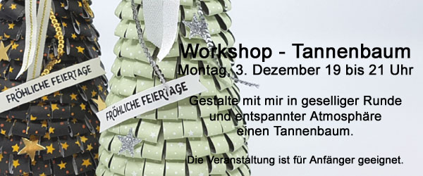 Workshop Tannenbaum - Dekoration